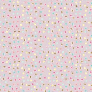 watercolor dots lilac