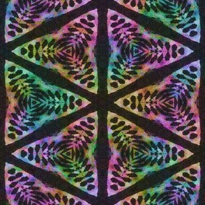 rainbow tribal lion hexagon tapestry 3 pavement africa symbol batik was woodprint
