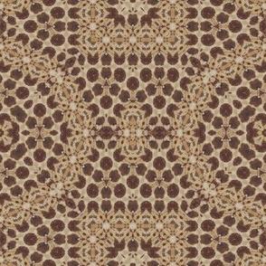 tribal lion tapestry pavement africa symbol batik wax woodprint