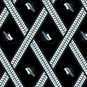 Fluevog Bee's Knees -- Black/ White