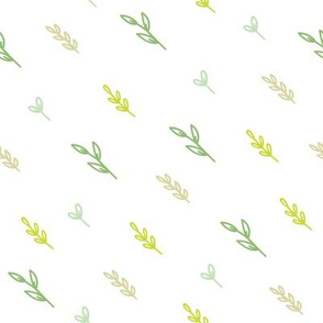 Cute green plants