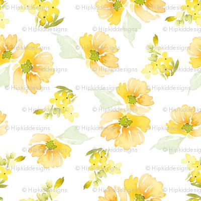 """8"""" Sunshine Florals"""
