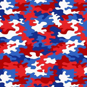 camo (patriotic USA)
