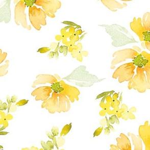 """12"""" Sunshine Florals"""