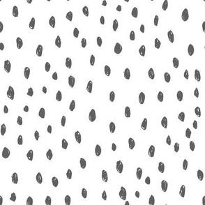 abc quilt // dots ABC's animals nursery fabric