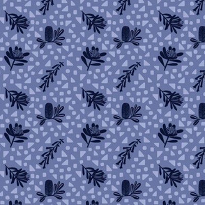 Little Australian Wildflowers: Blue