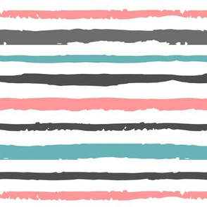 Pink and blue striped pattern