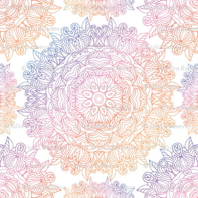 Vintage delicate pattern