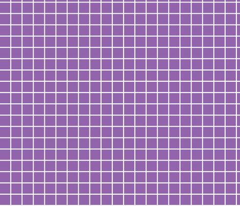 "amethyst purple windowpane grid 1"" reversed square check graph paper fabric by misstiina on Spoonflower - custom fabric"