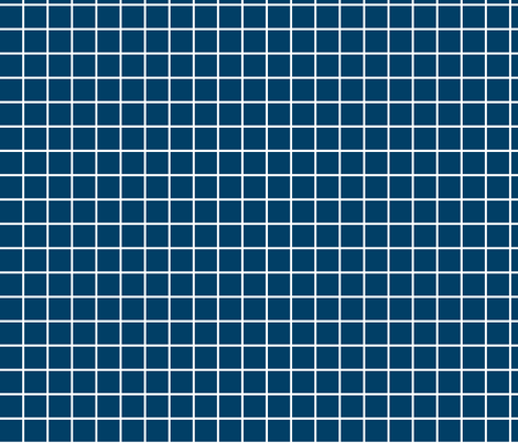navy blue windowpane grid 1 reversed square check graph paper