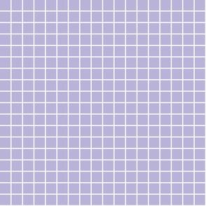 "light purple windowpane grid 1"" reversed square check graph paper"