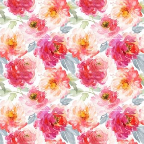 """4"""" Juniper Floral Blooms"""