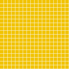 "mustard yellow windowpane grid 1"" reversed square check graph paper"