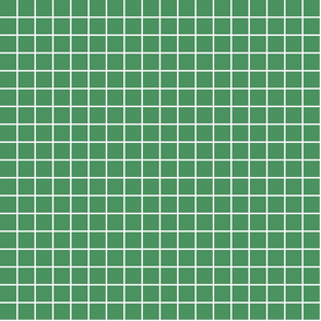 "kelly green windowpane grid 1"" reversed square check graph paper"