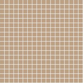 "tan windowpane grid 1"" reversed square check graph paper"