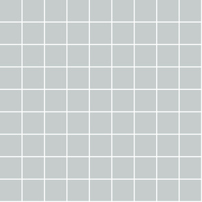 """sterling grey windowpane grid 2"""" reversed square check graph paper"""