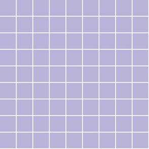 "light purple windowpane grid 2"" reversed square check graph paper"