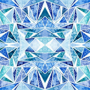 Blue Facets