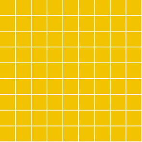 "mustard yellow windowpane grid 2"" reversed square check graph paper"