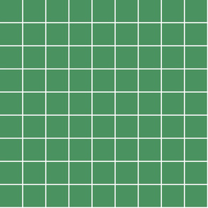 """kelly green windowpane grid 2"""" reversed square check graph paper"""