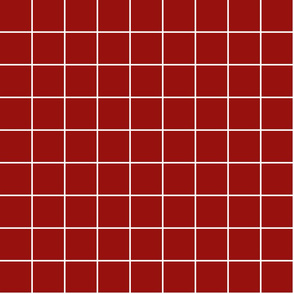 "dark red windowpane grid 2"" reversed square check graph paper"