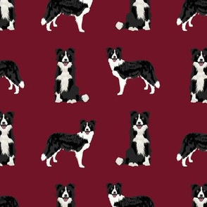 border collie dog breed fabric pet lovers sewing projects ruby