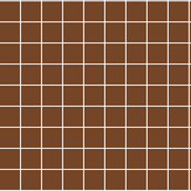 """chocolate brown windowpane grid 2"""" reversed square check graph paper"""
