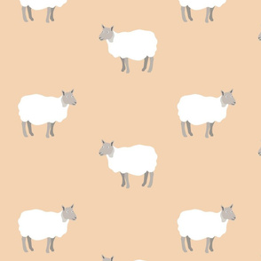 sheep pattern 2
