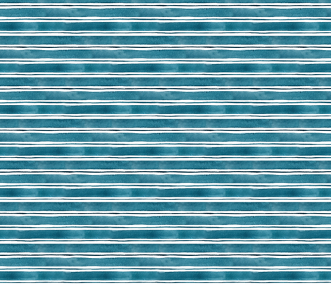 navywatercolourstripe fabric by rockridgeacres on Spoonflower - custom fabric