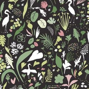 Botanical Herons