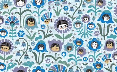 Sisters & Brothers (Purple Blue)
