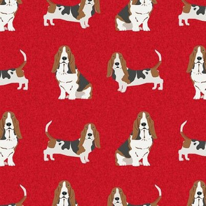 basset hound pet quilt a dog breed fabric coordinate