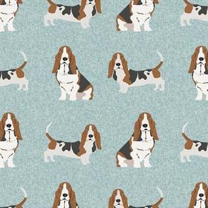 basset hound pet quilt b dog breed fabric coordinate