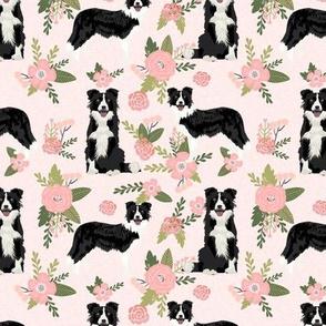 border collie pet quilt d quilt coordinate dog breed nursery fabric floral