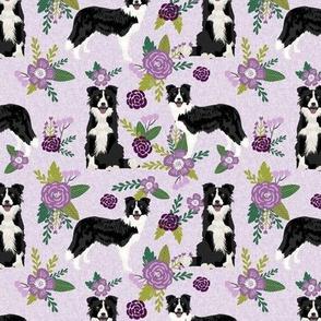 border collie pet quilt c quilt coordinate dog breed nursery fabric floral