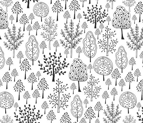 Fairy wood fabric by worldion on Spoonflower - custom fabric