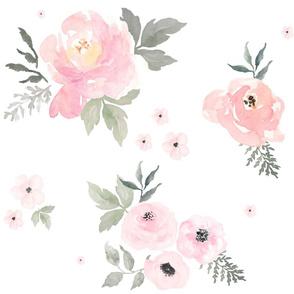 """21"""" Sweet Blush Roses"""