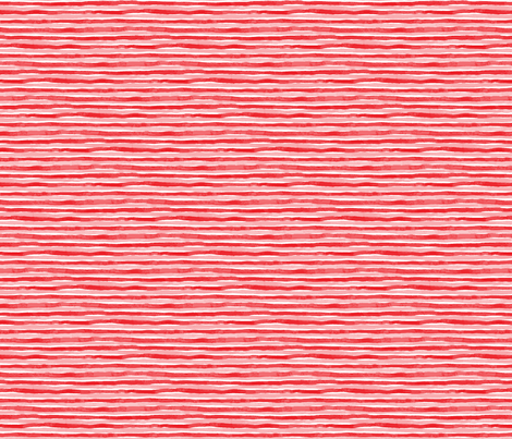 Red and Pink Watercolor Stripes fabric by bevestudio on Spoonflower - custom fabric
