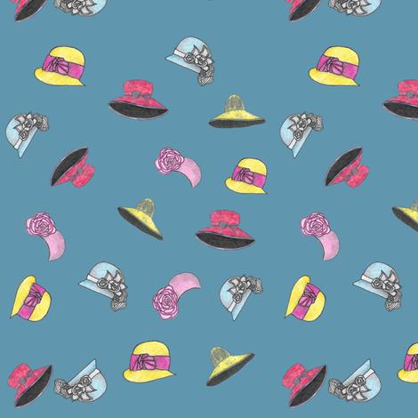 Church Hats fabric by angelheartdesigns on Spoonflower - custom fabric