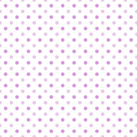 Polka dot - purple fabric by mayra on Spoonflower - custom fabric