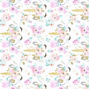 unicorn floral S - rotate