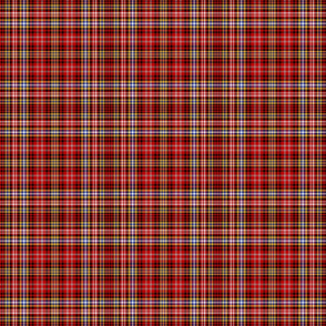 Ogilvie red/yellow tartan, 6""
