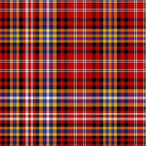 Ogilvie red/yellow tartan, 12""