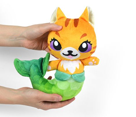 Cut & Sew Orange Mer-kitty Plush