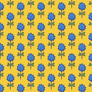 single suzani motif SMALL yellow blue-01