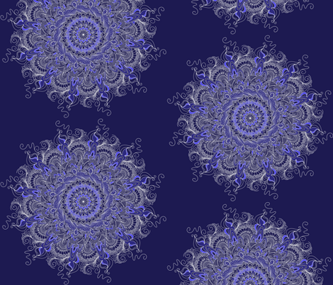 bluebliss fabric by stacystudios on Spoonflower - custom fabric