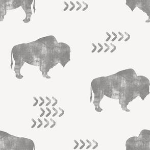 distressed buffalo - GG - C18BS
