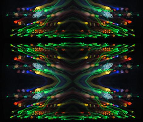 waves of fluorescent rocks fabric by clotilda_warhammer on Spoonflower - custom fabric