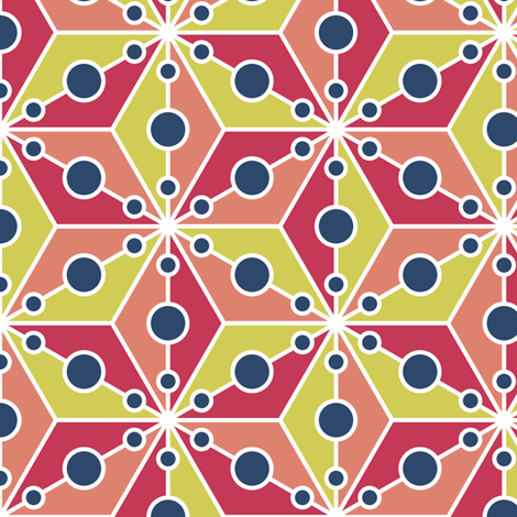 07356493 : SC3C spotty : matisse fabric by sef on Spoonflower - custom fabric