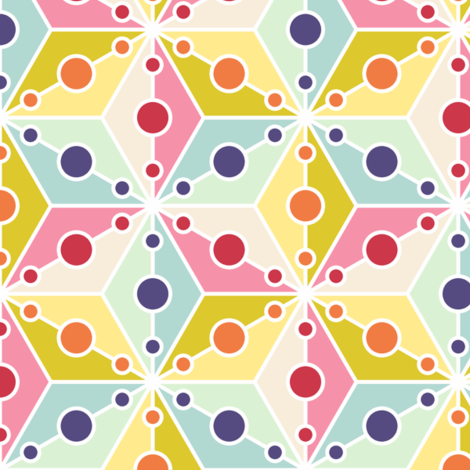 07356525 : SC3C spotty : spring quilt fabric by sef on Spoonflower - custom fabric